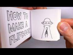 How to MAKE A FLIPBOOK - YouTube