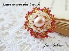 Enter to #win handmade crocheted jewelry by @sukranjewelry:http://treeshides.blogspot.ca/2012/06/giveaway-sukran-jewelry.html