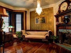 Victorian Gothic interior style