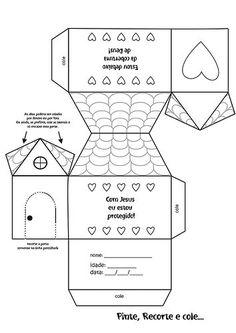 Atendendo a pedidos, diversos moldes de casas para confecção de maquetes ou lembrancinhas:                            Esta postagem pertence...