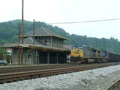 | CSX coal train Ronceverte, WV