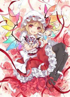 Alice made Remi doll for Flan. Manga Girl, Anime Art Girl, Anime Manga, Dark Anime, Beautiful Anime Girl, I Love Anime, Anime Cosplay, Kawaii Anime, Touhou Anime