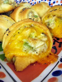 Chicken Salad Crescents | Plain Chicken - I would probably use swiss cheese instead of cheddar.