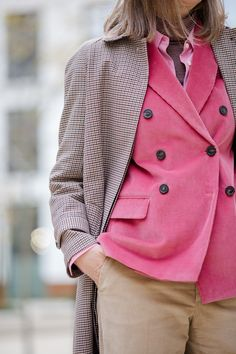 Things you never knew you wanted: the pink corduroy blazer