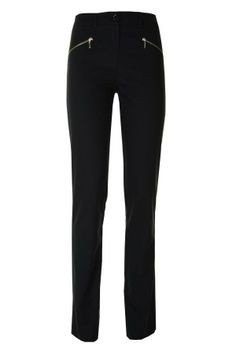 pantalon droit zip argenté devant ABSOLU - CpourL Suits, Fashion, Bermudas, Straight Trousers, Trendy Outfits, Trousers, Fall Winter, Moda, Outfits