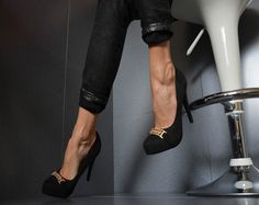 Sergio Todzi Luxus Damenschuhe Party Pumps Plateau High Heels Schwarz 36 41 | eBay