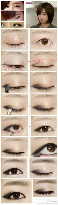 If you'd like to enhance your eyes and increase your natural beauty, having the best eye make-up tips and hints will help. You'll want to make certain you wear make-up that makes you look even more beautiful than you are already. Make Up Looks, Hd Make Up, Makeup Trends, Makeup Inspo, Makeup Inspiration, Makeup Style, Makeup Ideas, Style Inspiration, Asian Make Up