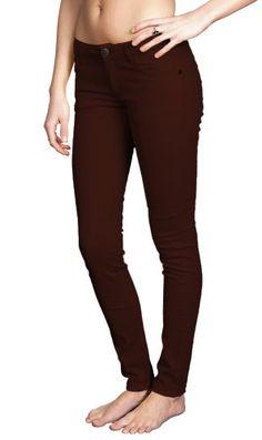 Women's Brushed Cotton Tapered Stretch Jeans : Emperial by Gazoz Burgundy 13 Emerald by Gazoz,http://www.amazon.com/dp/B00FAQZMXO/ref=cm_sw_r_pi_dp_nlSEsb0P6NKWCN1P