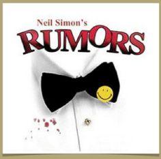 Neil Simon's Rumors at Theatre Winter Haven Apr 12-19.