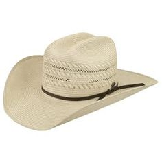 A quality built woven straw western hat, the Vinton features a subtle and sophisticated two-tone design throughout the entire hat. The rodeo crown features vented holes, a special weave pattern in select areas, and is finished with a ribbon hatband wi Western Horse Tack, Western Hats, Cowboy Hats, Western Saddles, Western Style, Horse Training Tips, Horse Tips, Barrel Racing Quotes, Types Of Hats