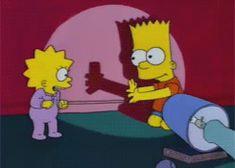 gif the simpsons simpsons lisa simpson lisa bart bart simpson season 6 lisa on ice Simpsons Quotes, Simpsons Art, Cartoon Gifs, Cartoon Shows, Image Simpson, Bart And Lisa Simpson, Los Simsons, Homer And Marge, Tv Funny