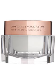 """And makeup artist Nick Barose, whose clients include Lupita Nyong'o and Kate Mara, loves Charlotte Tilbury's Magic Cream. """"It adds an instant glow so you need less foundation."""" Charlotte Tilbury Magic Cream, $95, bergdorfgoodman.com. Courtesy - HarpersBAZAAR.com"""