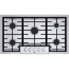 Bosch NGM8655UC 800 36' Stainless Steel Gas Sealed Burner Cooktop ** This is an Amazon Affiliate link. Continue to the product at the image link.