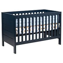 """Modena 3-in-1 Convertible Crib with Toddler Rail - Navy - DaVinci - Babies """"R"""" Us"""