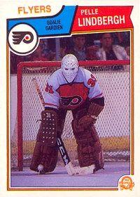 Pelle Lindbergh Year: Set: O-Pee-Chee This O-Pee-Chee Pelle Lindbergh rookie card Flyers Hockey, Hockey Goalie, Hockey Cards, Baseball Cards, Hockey Rules, Goalie Mask, Cool Masks, Lindbergh, Philadelphia Flyers