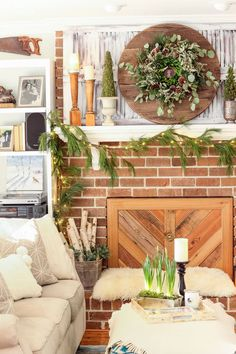 Take a Cheap Thrift Store or Plain Faux Wreath and transform it into a wreath worth $200 or more! | Pretty Handy Girl | #prettyhandygirl #diywreath #thriftstore #diydecor #homedecor #holidaydecor #diychristmasdecorations #christmasdecorations