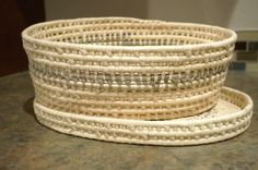 Fair trade, hand-woven basket with lid from Haiti. 15% off with coupon code CYBERMONDAY between now and December 8.
