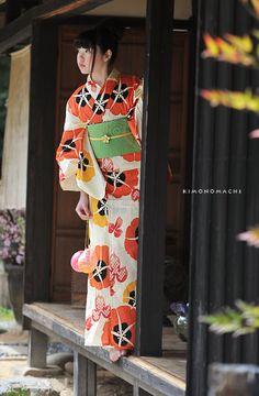 kawaii kimono: yukata: asagao / あさがお