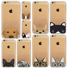 Newest Super Cute Phone Cases For iPhone 6 6s Plus 6Plus 4 4s 5 5s SE 5c Case Fashion Luxury Ultra Thin Funny Cat Dog Back Cover #>=#>=#>=#>=#> Click on the pin to check out discount price, color, size, shipping, etc. Save and like it!