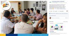 Trabalho de conteúdo e divulgação do McDia Feliz Paraíba, através das redes da Associação Donos do Amanhã.