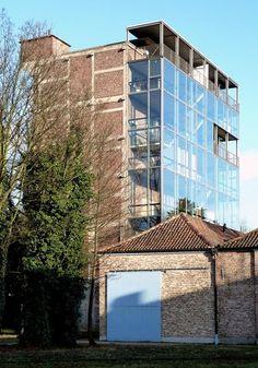 Beel Achtergael Budatoren productiehuis voor kunsten Kortrijk 1998