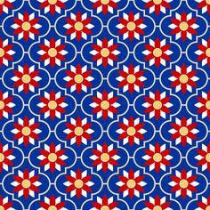 union flower fabric by sef on Spoonflower - custom fabric
