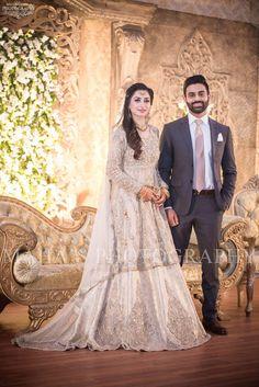 Pin by ks❤ on all about weddings Bridal Mehndi Dresses, Walima Dress, Pakistani Wedding Outfits, Pakistani Bridal Dresses, Pakistani Wedding Dresses, Bridal Outfits, Saree Wedding, Indian Dresses, Couple Wedding Dress
