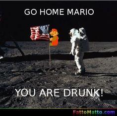 Vai a casa Mario, sei ubriaco! - via FattoMatto.com - #FattoMatto