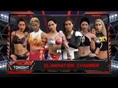 WWE2K17-DIVAS-UNIVERSE MODE-DIVAS NO WAY OUT.
