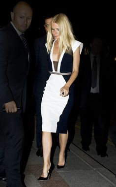 Festive Attire - Week of April 22, 2013:  WHO: Gwyneth Paltrow WHAT: Bibhu Mohapatra WHERE: On the street, Paris WHEN: April 14, 2013