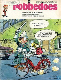 1970 Belgian comic weekly Robbedoes #1665