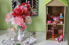easy crafted house for lalaloopsy