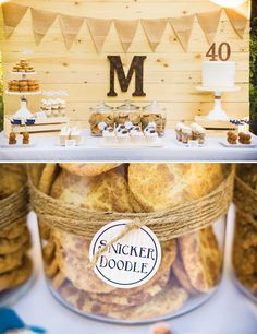 {Bluegrass and Bourbon} Manly 40th Birthday Party