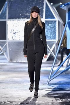 H&M fall 2015. See all the other runways Gigi's been on.