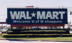 Wal-Mart Wolverine: A fan of the University of Michigan who has never attended the school therefor has to buy their fan gear from Wal-Mart.
