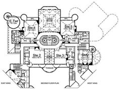balmoral house plan 6048 - 12 bedrooms and 12.5 baths | the house