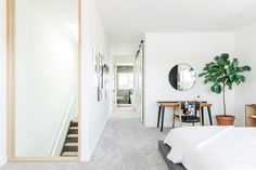 Completed in 2017 in Calgary, Canada. Images by Jamie Anholt. This home was built and designed by the current homeowners, Alkarim and Majida Devani. The President and Creative Director of RNDSQR took inspiration. Wardrobe Room, Villa, Interior Decorating, Interior Design, Architecture Design, Home Goods, Sweet Home, Bedroom Decor, Design Inspiration
