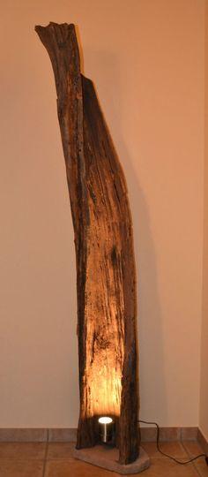 Stehlampe Lampe Beleuchtung Strahler Stehleuchte Design Leuchte Holz