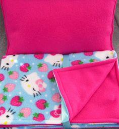 Dog Blanket and Pillow SetSoft Fleece Kitty