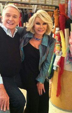 Bob Mackie w/ long time client Joan Rivers Joan Rivers, Barbie Dress, Barbie Clothes, Barbie Barbie, Beautiful Costumes, Beautiful Outfits, Beautiful Clothes, Paper Fashion, Fashion Art