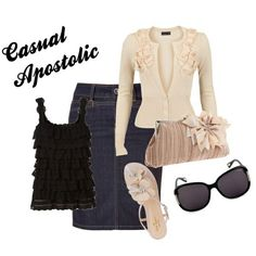 Cute pentecostal outfit!
