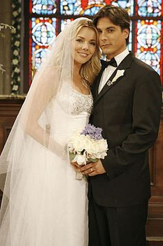 Lucas and Carrie's wedding on Days of our Lives #dool