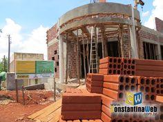 Construção da Casa da Cultura