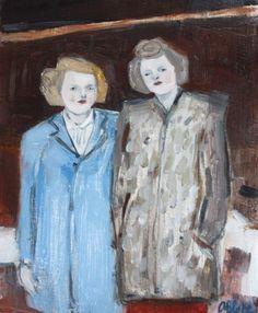 February 1944, Anita and me - Verna by Amanda Blake (contemporary), American