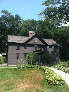 """Alcott House - home of """"Little Women"""" - Concord, MA"""