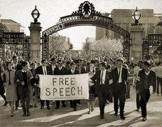 Università di  Berkeley 1964 - La protesta