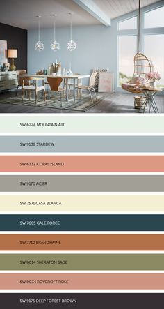 Meet our colormix 2017 Holistic palette, where sustainable design and radical transparency are the new standards. As our daily transactions move further into the cloud, acquiring experiences is becoming preferable to buying more things. Room Colors, Wall Colors, House Colors, Colours, Interior Paint Colors, Paint Colors For Home, Decoration Inspiration, Color Inspiration, Colour Schemes