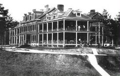 Remaining Buildings of Fort Oglethorpe Post - Post Hospital built in 1905 - one of the most important buildings in the history of the Post.