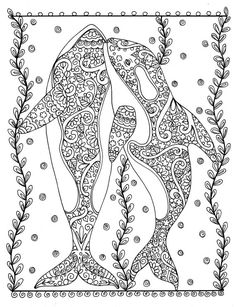 Fanta-Sea Coloring Book Under the Sea Adventure by ChubbyMermaid