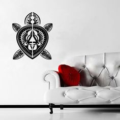 Wall Decal Art Decor Decals Sticker Turtle Animal Sea Ocean Pinstripes Buddhism India Sacred Amulet Fertility (M190) DecorWallDecals http://www.amazon.com/dp/B00FVTGKYA/ref=cm_sw_r_pi_dp_yBlYub0PCMCPE